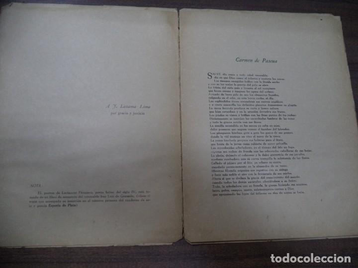 Libros de segunda mano: POEMAS. ANGEL GAZTELU. CUADERNOS ESPUELA DE PLATA. LA HABANA, CUBA. 1940. - Foto 5 - 146994006