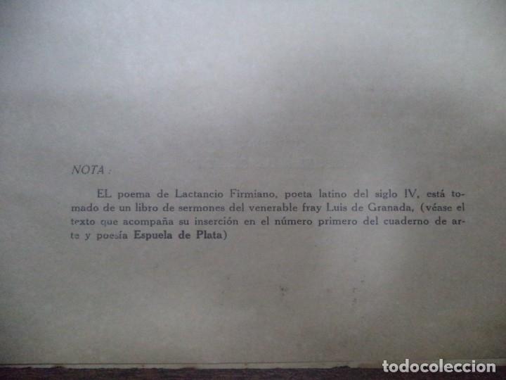 Libros de segunda mano: POEMAS. ANGEL GAZTELU. CUADERNOS ESPUELA DE PLATA. LA HABANA, CUBA. 1940. - Foto 7 - 146994006