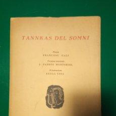 Libros de segunda mano: TANNKAS DEL SOMNI. Lote 147722458