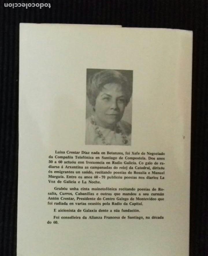 Libros de segunda mano: NAS ORELAS DO MENDO.. LUISA CRESTAR. IMPRENTA CELTA. LUGO 1982. - Foto 2 - 147773514