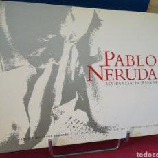 Libros de segunda mano: PABLO NERUDA RESIDENCIA EN ESPAÑA LIBRO +CD. Lote 147850428