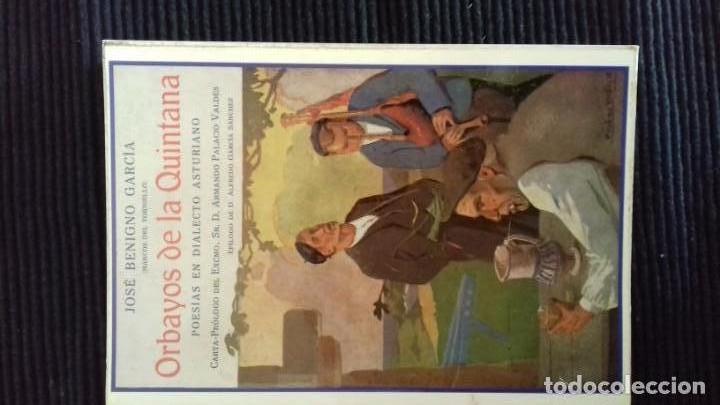ORBAYOS DE LA QUINTANA (Libros de Segunda Mano (posteriores a 1936) - Literatura - Poesía)