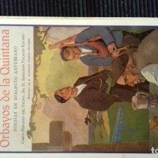 Libros de segunda mano: ORBAYOS DE LA QUINTANA. Lote 146250154