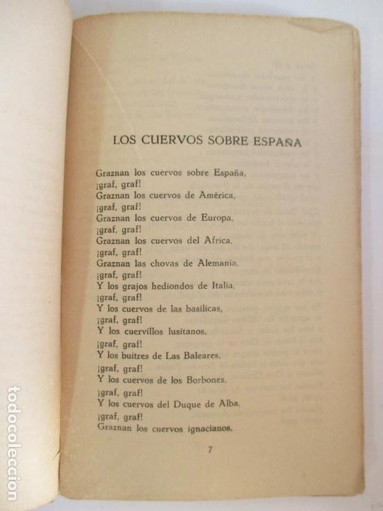 Libros de segunda mano: ROMACERO DE LA GUERRA (ESPAÑA 1936 - 1938) ALFONSO CAMIN. MEXICO 1939. FIRMADO Y DEDICADO AUTOR. - Foto 4 - 148467338