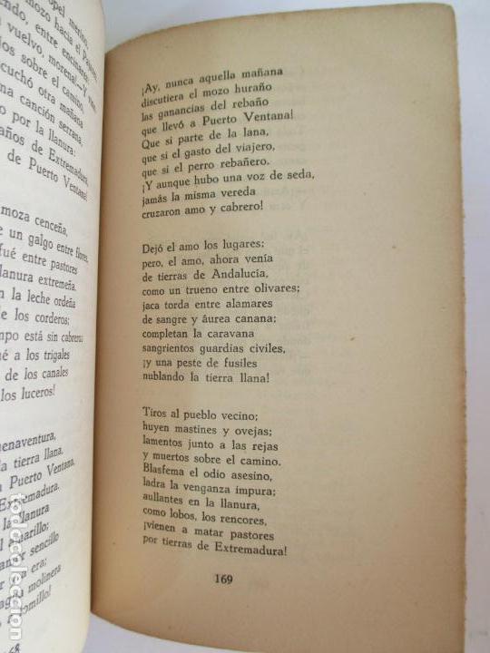 Libros de segunda mano: ROMACERO DE LA GUERRA (ESPAÑA 1936 - 1938) ALFONSO CAMIN. MEXICO 1939. FIRMADO Y DEDICADO AUTOR. - Foto 6 - 148467338