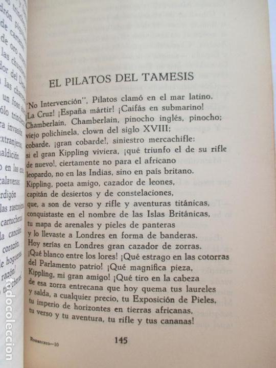 Libros de segunda mano: ROMACERO DE LA GUERRA (ESPAÑA 1936 - 1938) ALFONSO CAMIN. MEXICO 1939. FIRMADO Y DEDICADO AUTOR. - Foto 8 - 148467338