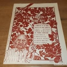 Libros de segunda mano: SES GLOSES D'EN PERE-GIL. ED. MOLL. 1ª EDICIÓ 1984. DIBUIXOS ORIGINALS DE DAVID DÍAZ. TOT UNA RARESA. Lote 149171918
