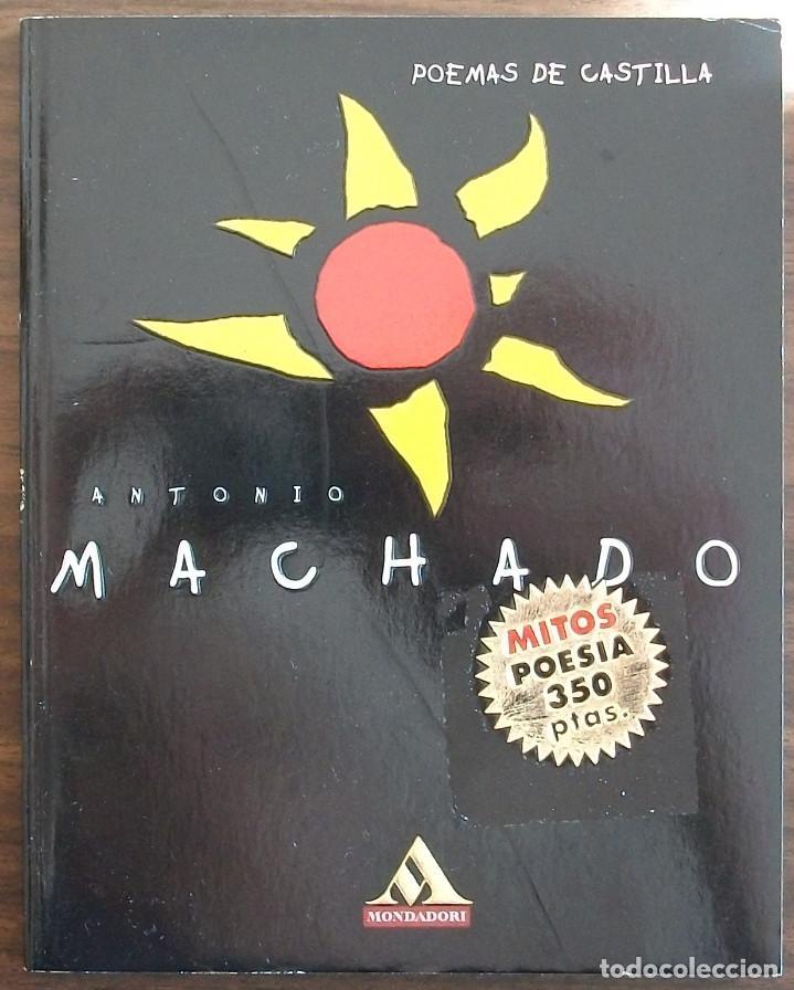 POEMAS DE CASTILLA. ANTONIO MACHADO. (Libros de Segunda Mano (posteriores a 1936) - Literatura - Poesía)