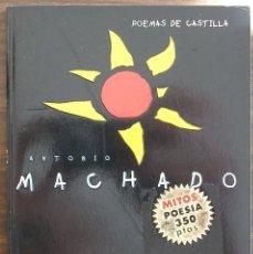 Libros de segunda mano: POEMAS DE CASTILLA. ANTONIO MACHADO.. Lote 150565866