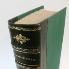 Libros de segunda mano: 1948 - MENÉNDEZ PELAYO - HISTORIA DE LA POESÍA HISPANO AMERICANA. Lote 150955930