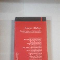 Libri di seconda mano: POEMAS Y RELATOS . Lote 151082418