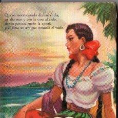 Libros de segunda mano: GUTIÉRREZ NÁJERA : SUS MEJORES POESÍAS (BRUGUERA, 1955). Lote 151123566