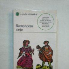 Libros de segunda mano - ROMANCERO VIEJO. CASTALIA DIDACTICA. EDITORIAL CASTALIA Nº 18. TDK370 - 152720314