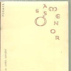 Libros de segunda mano: 3697.- POESIA - COM EL MAR LLUIS SERRAHIMA - OSSA MENOR PRÒLEG DE MARIÀ MANENT -DEDICAT. Lote 152739822