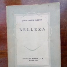 Libros de segunda mano: BELLEZA JUAN RAMÓN JIMÉNEZ. Lote 152751422