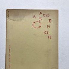 Libros de segunda mano: COM EL MAR. LLUÍS SERRAHIMA. ÓSSA MENOR, 1963, 1A EDICIÓ. DEDICATORIA AUTÓGRAFA AUTOR.. Lote 153216610