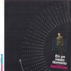 Libros de segunda mano: VICENTE ALEIXANDRE : EN UN VASTO DOMINIO. (DIARIO PÚBLICO, COL. VOCES CRÍTICAS, 2010) . Lote 153379210