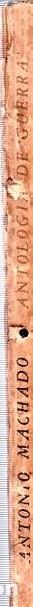 Libros de segunda mano: ANTOLOGIA DE GUERRA. VERSO Y PROSA. ANTONIO MACHADO. EDICION HOMENAJE, LA HABANA, 1944. - Foto 6 - 153786142