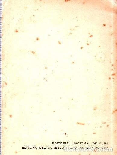 Libros de segunda mano: ANTOLOGIA DE LA POESIA CUBANA. OBRA EN TRES TOMOS. JOSE LEZAMA LIMA. 4000 EJEMPLARES, 1965. - Foto 9 - 153798614