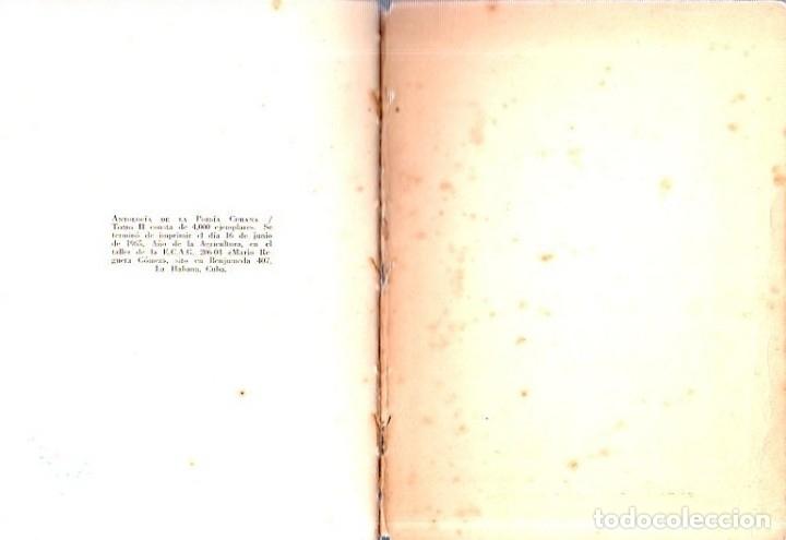 Libros de segunda mano: ANTOLOGIA DE LA POESIA CUBANA. OBRA EN TRES TOMOS. JOSE LEZAMA LIMA. 4000 EJEMPLARES, 1965. - Foto 19 - 153798614