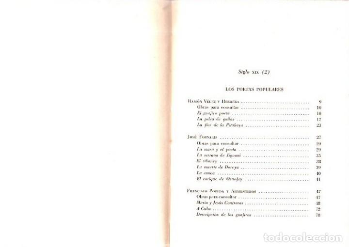 Libros de segunda mano: ANTOLOGIA DE LA POESIA CUBANA. OBRA EN TRES TOMOS. JOSE LEZAMA LIMA. 4000 EJEMPLARES, 1965. - Foto 24 - 153798614