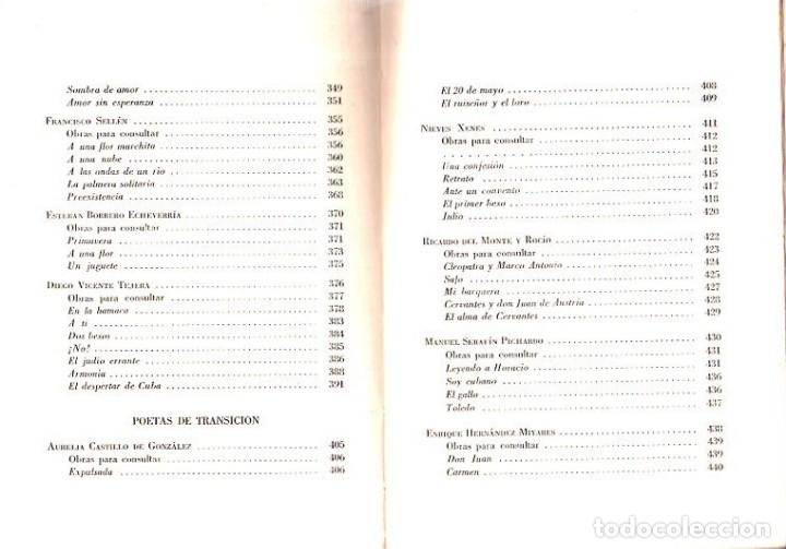 Libros de segunda mano: ANTOLOGIA DE LA POESIA CUBANA. OBRA EN TRES TOMOS. JOSE LEZAMA LIMA. 4000 EJEMPLARES, 1965. - Foto 27 - 153798614