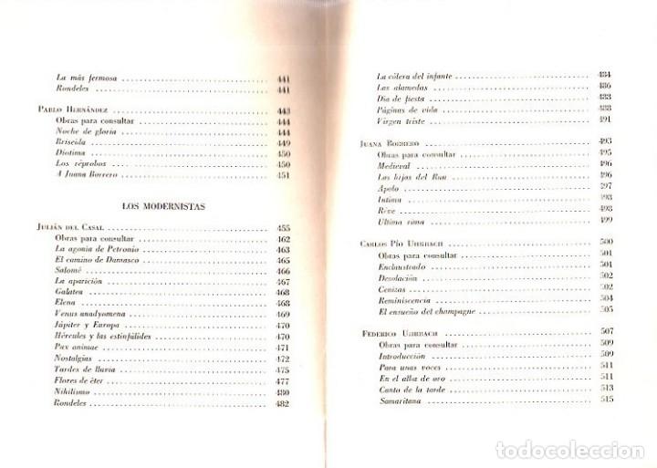 Libros de segunda mano: ANTOLOGIA DE LA POESIA CUBANA. OBRA EN TRES TOMOS. JOSE LEZAMA LIMA. 4000 EJEMPLARES, 1965. - Foto 28 - 153798614