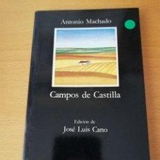 Libros de segunda mano: CAMPOS DE CASTILLA (ANTONIO MACHADO) CATEDRA. Lote 154649618