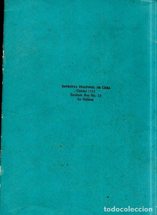 Libros de segunda mano: PROSA DE PRISA. CRONICAS. NICOLAS GUILLÉN. CON DEDICATORIA Y FIRMA DEL AUTOR. 1962. 1ª EDICION. - Foto 5 - 154751054