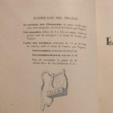 Libros de segunda mano: EL VOL DISPERS. JOAN LLONGUERES - LIMITADA 144 EJEMPLARES - 1946 FIRMADO POR EL AUTOR - BIBLIOFÍLIA. Lote 154793441