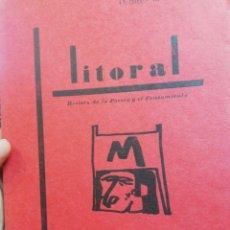 Libros de segunda mano: REVISTA LITORAL N.10. OCTUBRE-NOVIEMBRE 1969. Lote 155142594