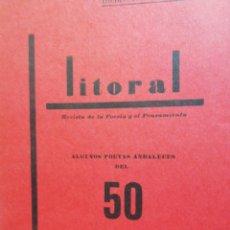 Libros de segunda mano: REVISTA LITORAL N. 11.DICIEMBRE 1969- ENERO 1970. Lote 155143550