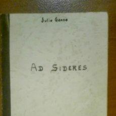 Libros de segunda mano: LIBRO INÉDITO DE JULIO GANZO MEDIAVILLA JUNTO CON DOCUMENTACIÓN,MANUSCRITOS Y CHAPA CON ESCUDO DE AR. Lote 155627186