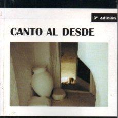 Libros de segunda mano: EVILASIO MOYA : CANTO AL DESDE (CARENA, 2000). Lote 155965550