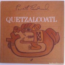Libros de segunda mano: ERNESTO CARDENAL - QUETZALCOATL - EDITORIAL NUEVA NICARAGUA. EDICIONES MONIMBÓ - 1985 1ª EDICIÓN. Lote 156010634