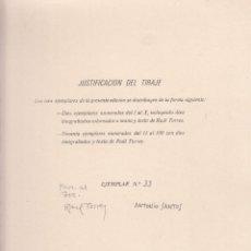 Libros de segunda mano: RAUL TORRES. EL ANGEL DE LA LUZ SEÑALÓ CUENCA. ANTONIO SANTOS: LINOGRABADOS. CUENCA, 1980. Lote 156011982