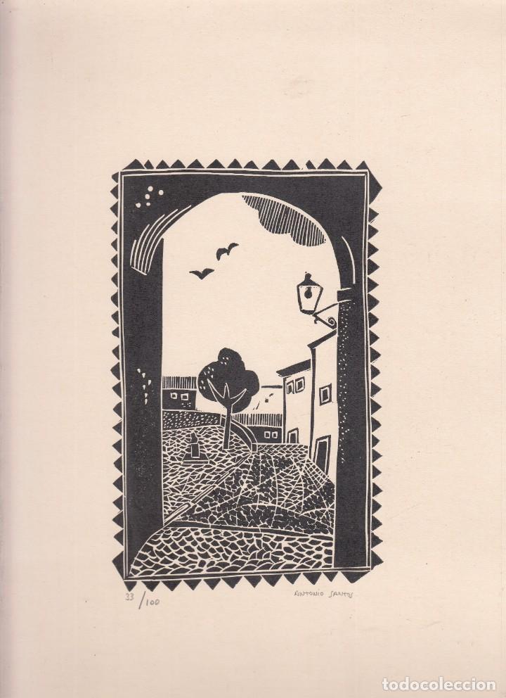 Libros de segunda mano: RAUL TORRES. El angel de la luz señaló Cuenca. Antonio Santos: Linograbados. Cuenca, 1980 - Foto 3 - 156011982