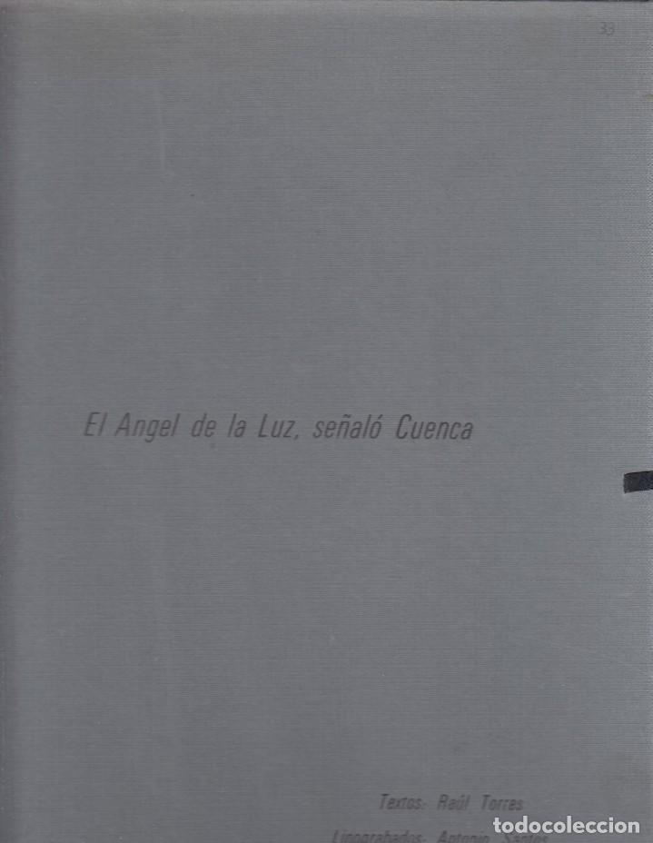 Libros de segunda mano: RAUL TORRES. El angel de la luz señaló Cuenca. Antonio Santos: Linograbados. Cuenca, 1980 - Foto 4 - 156011982