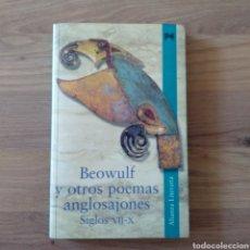 Libros de segunda mano: BEOWULF Y OTROS POEMAS ANGLOSAJONES SIGLOS VII-X.. Lote 156820694