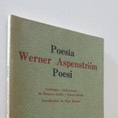 Livros em segunda mão: POESÍA WERNER ASPENSTRÖM POESI - EDICIONES EL TUCÁN DE VIRGINIA. Lote 157667988