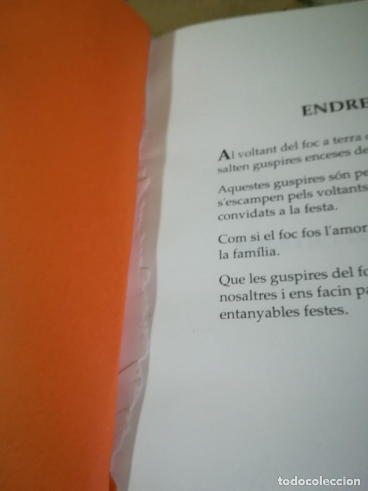 Libros de segunda mano: Guspires nadalenques - Manuel Foraster - en català - Foto 4 - 158146910