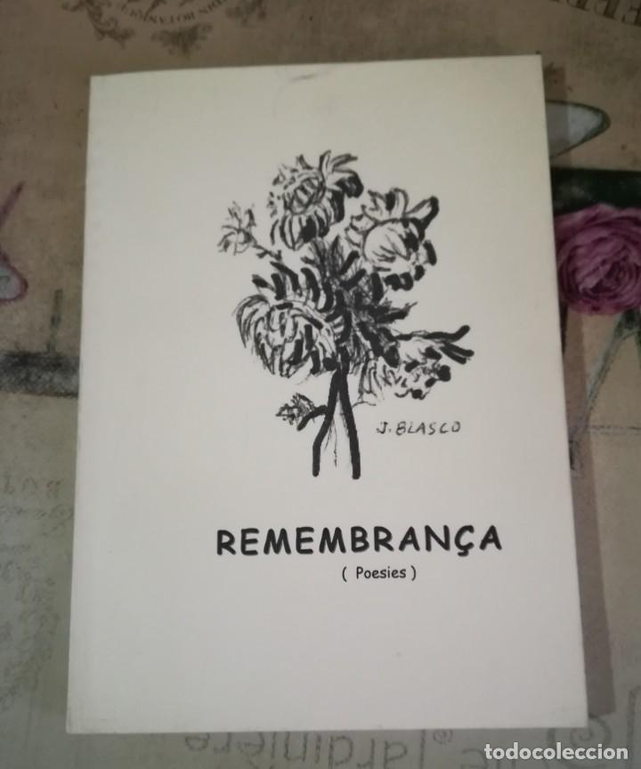 REMEMBRANÇA - MANUEL FORASTER - EN CATALÀ (Libros de Segunda Mano (posteriores a 1936) - Literatura - Poesía)