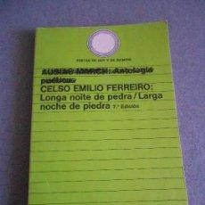 Libros de segunda mano: LARGA NOCHE DE PIEDRA. Lote 158706722