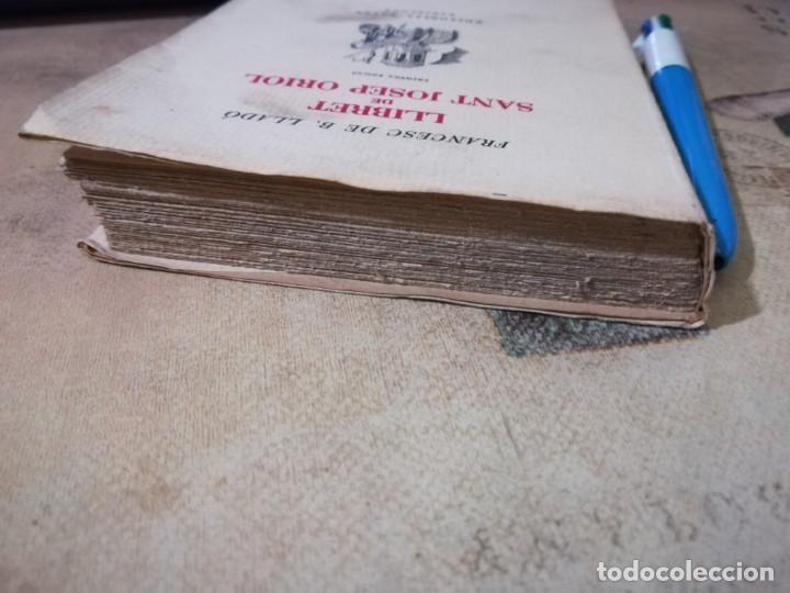Libros de segunda mano: Llibret de Sant Josep Oriol - Francesc de B. Lladó - 1950 - en català - Foto 5 - 158714574
