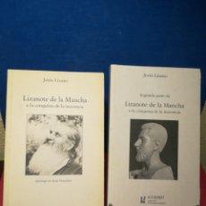 Libros de segunda mano: LIZANOTE DE LA MANCHA O LA CONQUISTA DE LA INOCENCIA VOLS. 1 Y 2 - JESÚS LIZANO -EL CIERVO,1997-1999. Lote 158915820
