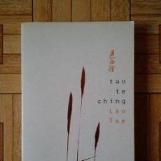 Libros de segunda mano: TAO TE CHING - LAO TSE. Lote 207276905