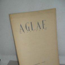 Libros de segunda mano: AGLAE, ANTOLOGÍA, VVAA, CÓRDOBA, 1952. Lote 159233914
