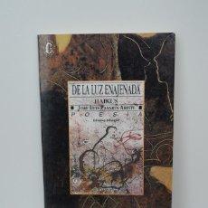 Libros de segunda mano: DE LA LUZ ENAJENADA. HAIKUS. JOSE LUIS PASARIN ARISTI. EDICION EUSKERA-CASTELLANO, ILUSTRADA. 1993.. Lote 159290710