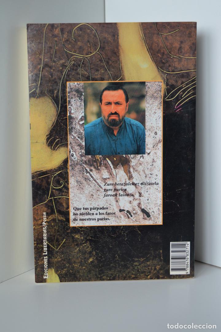 Libros de segunda mano: DE LA LUZ ENAJENADA. HAIKUS. JOSE LUIS PASARIN ARISTI. EDICION EUSKERA-CASTELLANO, ILUSTRADA. 1993. - Foto 5 - 159290710