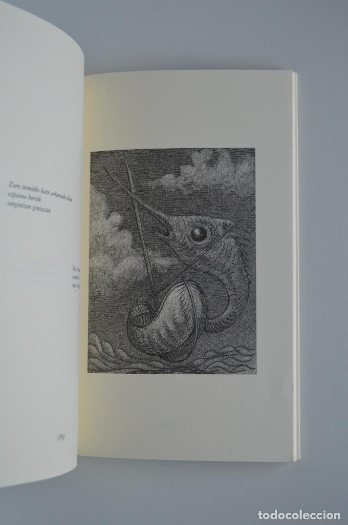 Libros de segunda mano: DE LA LUZ ENAJENADA. HAIKUS. JOSE LUIS PASARIN ARISTI. EDICION EUSKERA-CASTELLANO, ILUSTRADA. 1993. - Foto 6 - 159290710